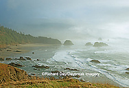 Cannon Beach at sunset, Ecola State Park OR