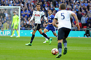 Tottenham's Deli Alli ©  makes himself available. The Emirates FA Cup semi-final match, Chelsea v Tottenham Hotspur at Wembley Stadium in London on Saturday 22nd April 2017.<br /> pic by Carl Robertson,  Andrew Orchard sports photography.