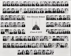 2002 Yale Divinity School Senior Portrait Class Group Photograph
