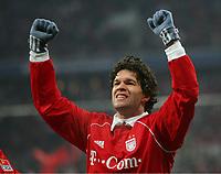 2:1 Jubel Michael Ballack Bayern<br /> Bundesliga FC Bayern München - 1. FC Nuernberg<br /> Nürnberg<br /> <br /> Norway only