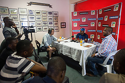 Sri Lanka captain Rangana Herath  during a press conference held at Harare Sports club ahead of the 100th test match for Zimbabwe which is to be played against visitors Sri Lanka October 28 2016. Photo Jekesai Njikizana