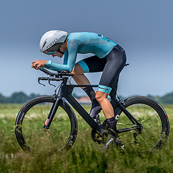 EMMEN (NED) June 16: <br />CYCLING <br />Dutch Nationals Time Trail Women Elite Anneleen Bosma