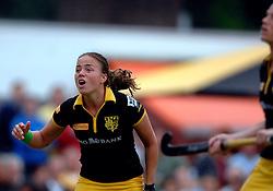20-05-2007 HOCKEY: FINALE PLAY OFF: DEN BOSCH - AMSTERDAM: DEN BOSCH <br /> Den Bosch voor de tiende keer op rij kampioen van de Rabo Hoofdklasse Dames. In de beslissende finale versloegen zij Amsterdam met 2-0 / Maartje Paumen<br /> ©2007-WWW.FOTOHOOGENDOORN.NL