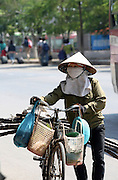 Vietnam, local woman at the market