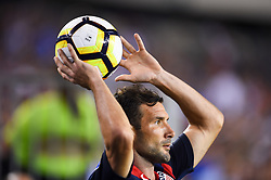 July 19, 2017 - Philadelphia, PA, USA - Philadelphia, PA - Wednesday July 19, 2017: Chris Pontius  during a 2017 Gold Cup match between the men's national teams of the United States (USA) and El Salvador (SLV) at Lincoln Financial Field. (Credit Image: © Brad Smith/ISIPhotos via ZUMA Wire)
