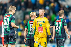 17.03.2019, Tivoli Stadion Tirol, Innsbruck, AUT, 1. FBL, FC Wacker Innsbruck vs FC Red Bull Salzburg, 22. Runde, im Bild v.l. Manuel Maranda (FC Wacker Innsbruck), Christopher Knett (FC Wacker Innsbruck), Christian Klem (FC Wacker Innsbruck) // during the tipico Bundesliga 22th round match between FC Wacker Innsbruck and FC Red Bull Salzburg at the Tivoli Stadion Tirol in Innsbruck, Austria on 2019/03/17. EXPA Pictures © 2019, PhotoCredit: EXPA/ Stefan Adelsberger
