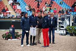 Staut Kevin, FRA, Guerdat Philippe, SUI<br /> FEI European Jumping Championships - Goteborg 2017 <br /> © Hippo Foto - Dirk Caremans<br /> 24/08/2017,