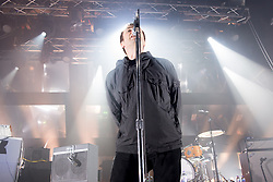 June 1, 2017 - London, England, United Kingdom - British iconic frontman Liam Gallagher performs at Electric Brixton, his first solo tour, london on June 1st, 2017. Former Oasis and Beady Eye singer, performs live songs from his first solo release 'As You Were' with his band which includes former Babishambles, Drew McConnell (bass) and former Kasabian and Beady Eye, Jay Mehler (guitar) (Credit Image: © Alberto Pezzali/NurPhoto via ZUMA Press)