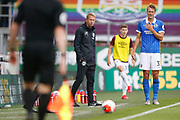 Brighton and Hove Albion Head Coach Graham Potter during the Premier League match between Burnley and Brighton and Hove Albion at Turf Moor, Burnley, England on 26 July 2020.