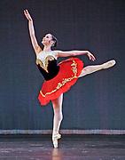 GASTON DE CARDENAS/EL NUEVO HERALD - Adiarys Almeida performs Don Quixote with Cuban Classical Ballet at the Manuel Artime Theater in Miami, Florida  March 4, 2007.