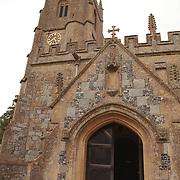 St. James Church Entrance - Avebury, UK