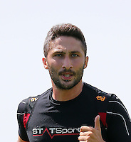 Galatasaray football team players continued to do on training in Birmingham, England on July 16, 2013.<br /> Pictured: Sabri Sarioglu