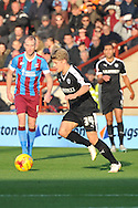 Lloyd Isgrove of Barnsley FC during the Sky Bet League 1 match between Scunthorpe United and Barnsley at Glanford Park, Scunthorpe, England on 31 October 2015. Photo by Ian Lyall.