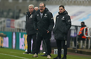 Leeds United Manager Marcelo Bielsa  during the Premier League match between Newcastle United and Leeds United at St. James's Park, Newcastle, England on 26 January 2021.