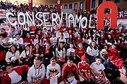 DESCRIZIONE : Teramo Lega A 2011-12 Banca Tercas Teramo Umana Venezia<br /> GIOCATORE : tifosi<br /> CATEGORIA : tifosi curva <br /> SQUADRA : Banca Tercas Teramo<br /> EVENTO : Campionato Lega A 2011-2012<br /> GARA : Banca Tercas Teramo Umana Venezia<br /> DATA : 03/03/2012<br /> SPORT : Pallacanestro<br /> AUTORE : Agenzia Ciamillo-Castoria/C.De Massis<br /> Galleria : Lega Basket A 2011-2012<br /> Fotonotizia : Teramo Lega A 2011-12 Banca Tercas Teramo Umana Venezia<br /> Predefinita :