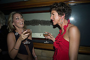 DONNA ROBBINS AND SAMANTHA HEATH-SMITH, Cartier Dinner to celebrate the re-opening of the Cartier U.K. flagship store, New Bond St. Natural History Museum. 17 October 2007. -DO NOT ARCHIVE-© Copyright Photograph by Dafydd Jones. 248 Clapham Rd. London SW9 0PZ. Tel 0207 820 0771. www.dafjones.com.