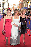 Nicola, Esther Rantzen and Tamara. BAFTA Television Awards, sponsored by the Radio Times, Grosvenor House. London. 13 May 2001. © Copyright Photograph by Dafydd Jones 66 Stockwell Park Rd. London SW9 0DA Tel 020 7733 0108 www.dafjones.com