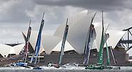 The Extreme Sailing Series 2014. Act 8. Sydney. Australia. Credit: Lloyd Images