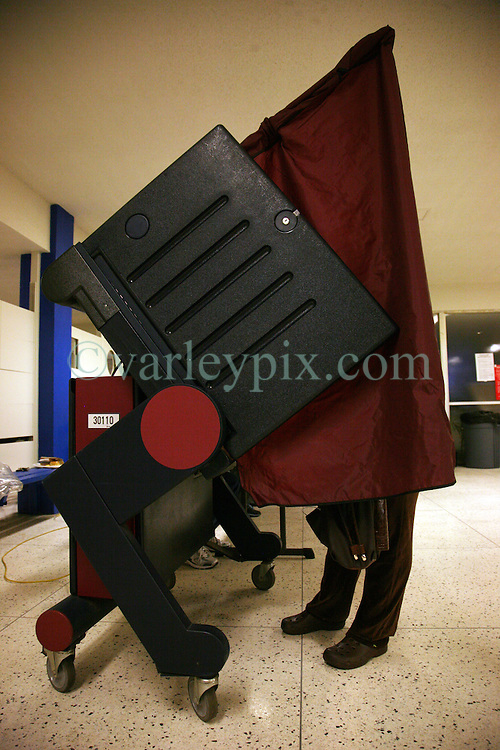 06 November 2012. New Orleans, Louisiana,  USA. .Election Day. After months of political campaigning, voters finally head to the polls to decide the next Commander in Chief along with state and other local leaders.