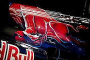 September 10-12, 2010: Italian Grand Prix. Toro Rosso engine cover