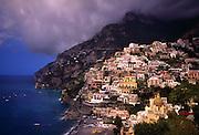 A breathtaking view of Positano, on the Amalfi Coast of Italy