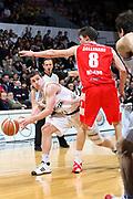 DESCRIZIONE : Bologna Lega A1 2007-08 La Fortezza Virtus Bologna Armani Jeans Milano <br /> GIOCATORE : Donald Mc Grath <br /> SQUADRA : La Fortezza Virtus Bologna <br /> EVENTO : Campionato Lega A1 2007-2008 <br /> GARA : La Fortezza Virtus Bologna Armani Jeans Milano <br /> DATA : 06/04/2008 <br /> CATEGORIA : Passaggio <br /> SPORT : Pallacanestro <br /> AUTORE : Agenzia Ciamillo-Castoria/L.Villani