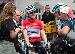 11.07.2019, Kitzbühel, AUT, Ö-Tour, Österreich Radrundfahrt, 5. Etappe, von Radstadt nach Fuscher Törl (103,5 km), im Bild Ben Hermans (BEL, Israel Cycling Academy) im roten Flyeralarm Trikot des Gesamtführenden der Österreich Rundfahrt // Ben Hermans of Belgium Team Israel Cycling Academy in the red Flyeralarm overall leaders jersey during 5th stage from Bruck an der Glocknerstraße to Kitzbühel (161,9 km) of the 2019 Tour of Austria. Kitzbühel, Austria on 2019/07/11. EXPA Pictures © 2019, PhotoCredit: EXPA/ Reinhard Eisenbauer
