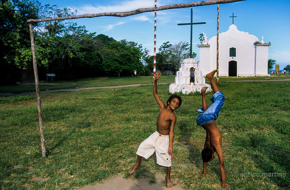 Trancoso, the Quadrado, the colonial main square built when the Gesuits founded the mission.