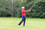 Emilio Cuartero Blanco (ESP) on the 3rd fairway during Round 3 of the Northern Ireland Open in Association with Sphere Global & Ulster Bank at Galgorm Castle Golf Club on Saturday 8th August 2015.<br /> Picture:  Thos Caffrey / www.golffile.ie