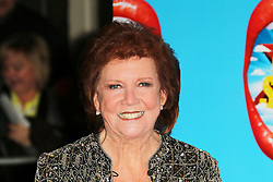 **FILE PICTURE - Singer and presenter Cilla black has died at the age of 72** Cilla Black, I Can't Sing! The X Factor Musical - press night, London Palladium, London UK, 26 March 2014, Photo by Richard Goldschmidt/LNP