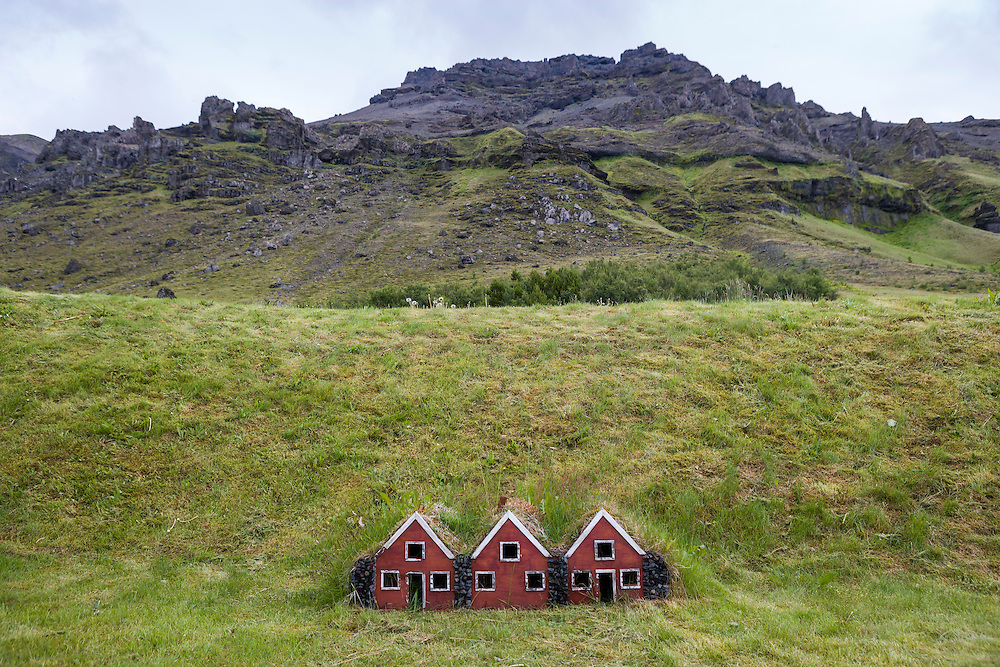 Little fairy houses are quite common in Iceland where whole road systems will be diverted to accommodate the Fairies who live in the hillsides