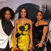 NLD/Amsterdam/20200217-Suriname filmpremiere,  Omri Tindal, Carolina Dijkhuizen en ..........