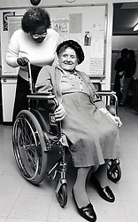 Elderly care Nottingham UK 1991
