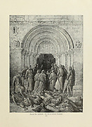 Te Deum After Victory Plate LXXIII from the book Story of the crusades. with a magnificent gallery of one hundred full-page engravings by the world-renowned artist, Gustave Doré [Gustave Dore] by Boyd, James P. (James Penny), 1836-1910. Published in Philadelphia 1892