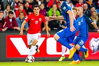 Fotball , 1 September , VM Kvalifisering , Landslaget , Norge - Aserbajdsjan , Mohamed Elyounoussi<br /> <br />  , Foto: Marius Simensen, Digitalsport