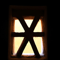 Asia, India, Amer. Amber Fort window.