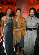 l to r: Michelle Jones, Michelle Ebanks and Angela Burt-Murray at The National CARES Mentoring Movement Gala held at ESPACE on December 2, 2008 in NYC..National CARES is a mentor-recruitment movement that works ti fill the pipeline of youth-supporting organizations throughout the country with mentors. Its mission is to save a generation by outting a caring adult in the life of every at-risk child and those who have already fallen in peril.