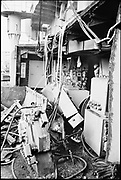 """Ackroyd 19047-R2-12 """"Zidell Exploration. Rochester Museum & Science Center"""" """"Scrapping USS Rochester. October 8, 1974"""""""