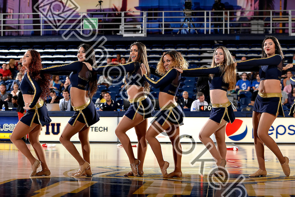 2015 December 06 - FIU Golden Dazzlers performing at FIU Arena, Miami, Florida. (Photo by: Alex J. Hernandez / photobokeh.com) This image is copyright by PhotoBokeh.com and may not be reproduced or retransmitted without express written consent of PhotoBokeh.com. ©2015 PhotoBokeh.com - All Rights Reserved