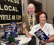 03/11/2016 Repro fee: Rita Gilligan's book The Rock 'n' Roll Waitress from The Hard Rock Cafe My Life by Rita Gilligan  in Hotel Meyrick, Galway was launched my Cllr. Noel Larkin Mayor of Galway.      Photo :Andrew Downes, XPOSURE
