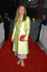 SOPHIE CONRAN at a party to celebrate the opening of Roger Vivier in London held at The Orangery, Kensington Palace, London on 10th May 2006.<br /><br />NON EXCLUSIVE - WORLD RIGHTS