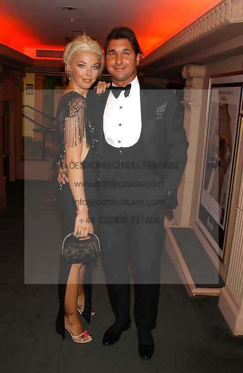 MISS TAMARA BECKWITH and MR GEORGE VERONI  at a party to celebrate 'Made in Italy at Harrods' - a celebration of Italian fashion food and wine, design and interiors, art and photography, cinema and music, beauty and glamour.  The party was held in the Georgian Restaurant at Harrods, Knightsbridge, London on 9th September 2004.<br /><br />PICTURES LICENCED UNTIL 9/3/2004 FOR USE TO PROMOTE THE 'MADE IN ITALY' EVENT/S ONLY.