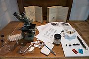 Charles Darwin Research Station Specimens<br /> Charles Darwin Research Station - Specimen Room<br /> Puerto Ayora<br /> Santa Cruz Island<br /> Galapagos<br /> Ecuador, South America