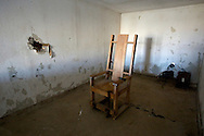 VERENIGDE STATEN-ANGOLA-De Louisiana State Prison. Electrische stoel. COPYRIGHT GERRIT DE HEUS, UNITED STATES-ANGOLA-Louisiana State Penitentiary. Electric Chair. Angola Prison.  Photo: Gerrit de Heus