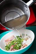 Beef Pho (#1), Pho Saigon Noodle House, Milpitas, Calif.  Photo by Stan Olszewski/SOSKIphoto.