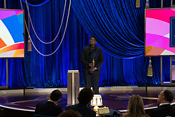 Daniel Kaluuya accepts the Oscar® for Best Actor in a Supporting Role during the live ABC Telecast of The 93rd Oscars® at Union Station in Los Angeles, CA, USA on Sunday, April 25, 2021. Photo by Todd Wawrychuk/A.M.P.A.S. via ABACAPRESS.COM