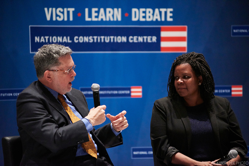 America's Town Hall: Presidential Campaigns: 1788 to Present<br /> with Jeffrey Rosen, NCC CEO;  and presidentiail historians Annette Gordon-Reed and Geoffrey Ward<br /> Headed to the White House Opening Day<br /> National Constitution Center<br /> February 11, 2016