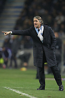 20120216: PORTO, PORTUGAL – UEFA Europa League 2011/2012 - 1/16 Final - 1st Leg: FC Porto vs Man. City.<br /> In photo: MANCINI.<br /> PHOTO: PEDRO PEREIRA/CITYFILES