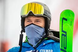 Matija Grasic during 2nd Run of Ladies' Giant Slalom at 57th Golden Fox event at Audi FIS Ski World Cup 2020/21, on January 17, 2021 in Podkoren, Kranjska Gora, Slovenia. Photo by Vid Ponikvar / Sportida