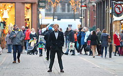 Rupert Grint filming for new movie Snatch on Police Street in Manchester City centre